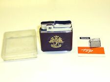 "ROWENTA ""TOP"" POCKET WICK LIGHTER WITH LEATHER COAT - OVP - 1950/60 - GERMANY"