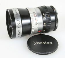 YASHICA CINE 38MM F1.4 D MOUNT #811477 WITH FRONT CAP