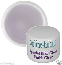 15ml  Special High Gloss Finish Gel Klar, Glanzgel, mittelviskos, transparent