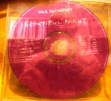 MAXI Single CD PAUL McCARTNEY Beautiful Night PROMO 1TR 1997 pop rock ballad