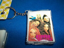Spice Girls Girl Power Key Ring w/ Note Book One Dozen *NEW on Display Hanger*