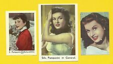 Silvana Pampanini Fab Card Collection Italian actress  Miss Italy in 1946