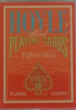 HOYLE OFFICIAL PLAYING CARDS POKER SIZE PLASTIC COATED