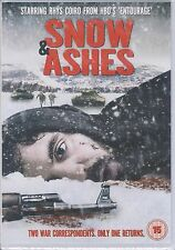 SNOW AND ASHES - Written & Directed by Charles-Olivier Michaud (NEW/SEALED DVD)