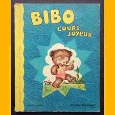 BIBO L'OURS JOYEUX images d'Okey Editions Bias 1950