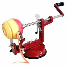 APPLE PEELER SLICER CORER DICER CUTTER KITCHEN POTATO FRUIT & VEG MACHINE 3 IN 1