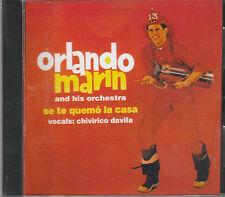 Orlando Marin - Se Te Quemo la Casa - Rare Non-Remastered Brand New CD - 1217