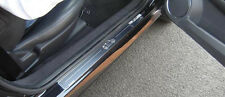 Vauxhall Tigra Mk2 Silver Stainless Steel Kick Plate Door Sill Protectors - K17