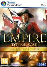 EMPIRE TOTAL WAR GOLD EDITION for PC SEALED NEW (SHIPS FREE in USA)