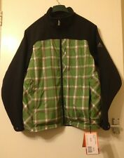 Mens Vaude Me Moab Cactus Wind Proof 42 Large EU 52 Black Jacket Mountain Coat