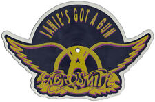 EX! Aerosmith: Janie's Got A Gun Shaped VINYL Pic Picture  Disc (GEF68P)