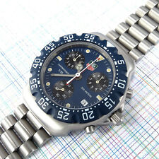 TAG Heuer Formula 1 Chronograph Blue Dial CA1210-RO, Service, New Bezel, TAG Box