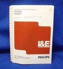 Philips PM3065 PM3067 Oscilloscope SERVICE Manual