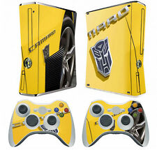 Transformer X38 Vinyl Decal Skin Sticker for Xbox360 slim and 2 controller skins
