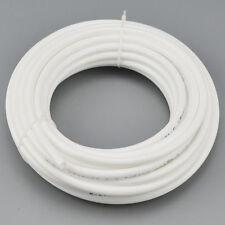 """10m Water Filter Pipe White Hose Tubing 1/4""""  Reverse Osmosis Aquarium Fitting"""