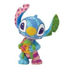 Disney by Britto Stitch with Frog Lilo & Stitch Mini Figurine New Boxed 4049376