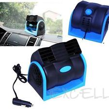 DC 12V Car Vehicle Truck Cooling Air Fan Speed Adjustable Silent Cooler New