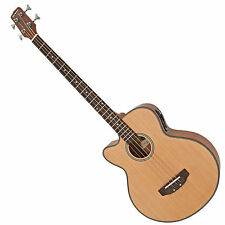 New Electro Acoustic Bass Guitar by Gear4music, Left Handed