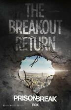 "PRISON BREAK 11""x17"" Original Promo TV Poster SDCC 2016 San Diego Comic Con MINT"