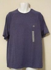 NEW CHAMPION ELITE Men's Wicking Double Dry Short Sleeve Mesh T-Shirt Purple M
