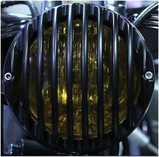 HEADLIGHT GRILL HARLEY DAVIDSON SOFTAIL CROSS BONES BREAKOUT BLACKLINE