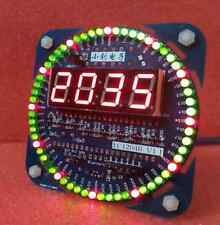 Digital led Electronic Time Clock+Temperature+date Display DIY Kit High Quality#
