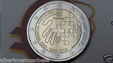 2 euro 2015 PORTOGALLO Portugal 150 anni Croce Rossa cruz vermelha red rouge