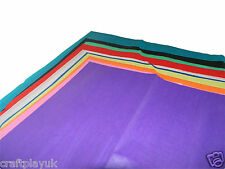 Tissue paper sheets pack of 20 (76x50cm) 10 colours