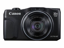 Canon PowerShot SX710 HS Digital Camera (Black) with 64GB SD Card