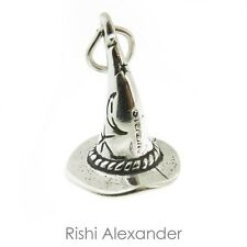 925 Sterling Silver Wizard Hat Charm Made in USA