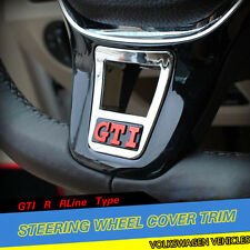 Volkswagen Car Steering Wheel Clip Cover Trim GTI R RLine Type for Golf 7 MK7