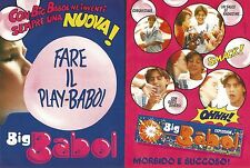 X1724 Big Babol Explosion - Pubblicità del 1993 - Vintage advertising