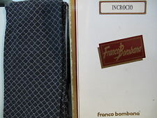 FRANCO BOMBANA - INCROCIO - collant moda tight fashion bianco/nero tg. 1°.