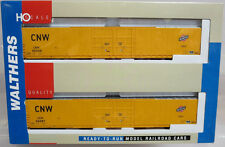 Walthers 932-23508 PS 86' Hi-Cube 4-Door Box Car C&NW (new) 2-Pack HO Scale NOS
