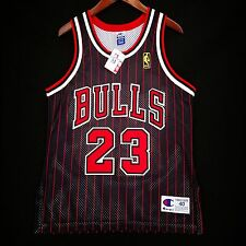 100% Authentic Michael Jordan NBA 50th Anniversary Champion Bulls Jersey Sz 40 M