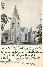 Ohio Postcard 1906 HILLSBORO Presbyterian Church Building Highland COunty