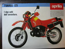 BROCHURE CATALOGUE  MOTO 1985  APRILIA TUAREG  125