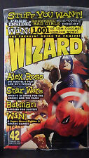WIZARD MAGAZINE NO. 42-NEW-HEROES COVER-LADY DEATH CHROMIUM & STAR WAR WV CARDS