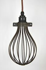Balloon Cage bare metal wire trouble lamp light guard only