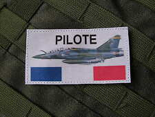Patch Velcro PILOTE MIRAGE 2000 - AIR VOL FRANCE PETAF