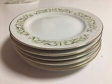 FINE CHINA OF JAPAN -  BELL FLOWER #2999   - BREAD & BUTTER PLATES - 6 TOTAL