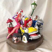 Disney Auction Roger JESSICA RABBIT Cast Baby Herman LE Multi Snowglobes-MIOS