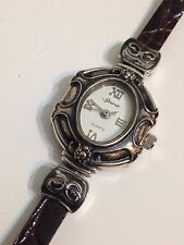 Spirit Ladies Designer Silver Tone Excellent Condition Working Quartz Watch