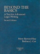 Beyond the Basics: A Text for Advanced Legal Writing, Second Edition  (American