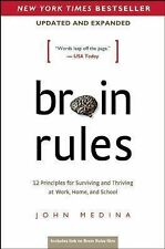 Brain Rules, Updated and Expanded by John Medina (2014, Paperback)
