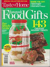 "TASTE OF HOME Magazine, 2013 Special Collectors Edition ""Homemade FOOD GIFTS"""