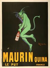 Original Vintage Poster Maurin Quina By Leonetto Cappiello 1906 French Liquor