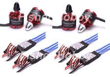 4x 2212 920KV Brushless Motor + 4 x 30A Simonk ESC soldered for DJI