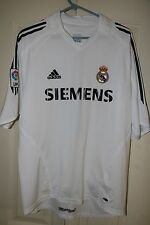Roberto Carlos Jersey Real Madrid Home # 3 Men's Large Santiago Bernabéu Stadium