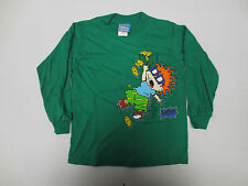 RUGRATS YOUTH SHIRT SIZE 4 PRINTED KIDS VINTAGE VTG NICKELODEON CHUCKIE FINSTER